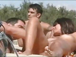 Nude Beach - Hot Couple Play