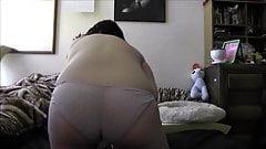 Doggie Style Hitachi Use Geeky chubby girl