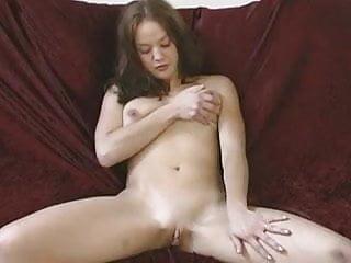 J15 Busty 18yo Gabrielle masturbates