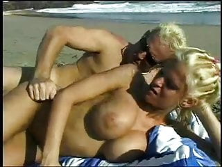 Tina Cheri Anal Sex by the Beach