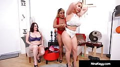 Mocha Fuck Train With Nina Kayy Maggie Green & Yummy !