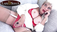 Lady Sonia is turned on thinking about being gangbanged
