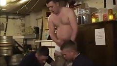 British Builders Use Younger Fit Chav Work Mate As Cum Rag