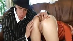 young Boytoy in threesome with boss