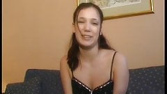 French teen loves hard dick