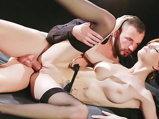 LETSDOEIT - Hot Fantasy Anal Sex with Big Natural Tits Babe