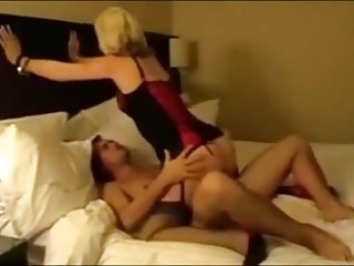 Hubby films british hotwife fucking others