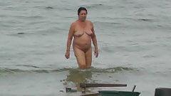 Nude Beach at Baltic Sea
