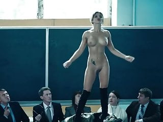 Nude beauty on TV
