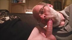 dutch grandpa gives blowjob to chubby dude