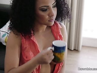 Kayla Louise - Sexting On The Settee - Short Trailer