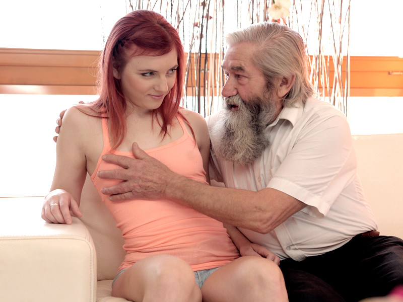 Daddy4k old dad isn039t against hot quickie with son039s 5