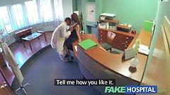 FakeHospital Doctors compulasory health check makes busty
