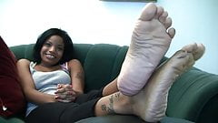 Ebony Feet Soles