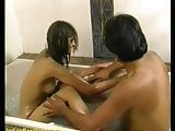 young desi indian teen shower