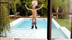 Celebrity Constantin von Jascheroff frontal naked