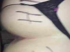 Thick Assed White Whore Loves my BBC