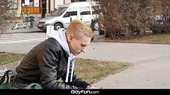 Boyfun - Jake Olsen Bareback Fucks Oliver Morgenson