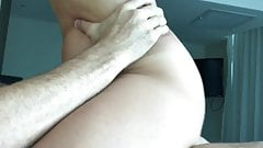 Fit milf riding to orgasm