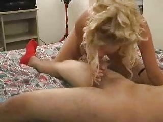 Blonde MILF Bree Does a Dude