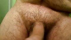 jackmeoffnow cbt dowel tap on limp low hanging dick erection