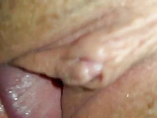 Fucking her loose hole