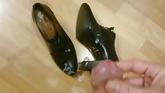 cum over shoes of gf