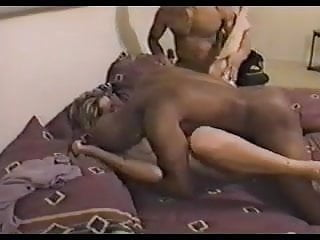 Wife Sass Threesome With Two Lovers