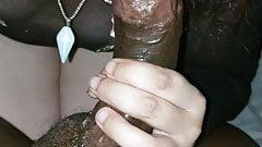 20 year old sucking my black cock