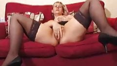Big Boobs Blonde Mature