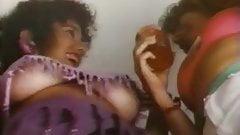 Dream trap (1990) - upskirt & uptop scene
