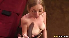 Tegan Riley Gets Fucked And Creampied By BBC