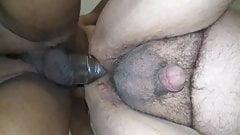 Huge black cock Twitter model fucks dude and cums