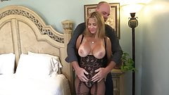 Wife Rio Bodystocking Fuck & Suck!
