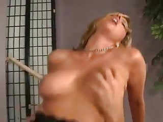 Hot blonde woman Jodi West is having wild sex