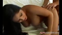 Busty Latina babe Jenaveve Jolie craves for hard dick