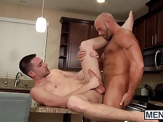 Coby Mitchell fucks his sweet stepson, Dylan Knight in his h
