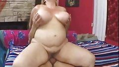 Nice British Mature BBW fucks