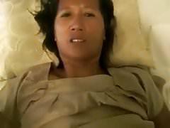 White guy fucks Thai mom (POV)