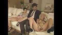 Vintage German family - the dildo salesman