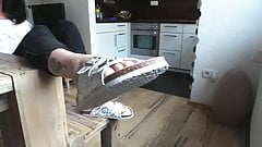 Birkenstock  sandals in Footfetish modeling
