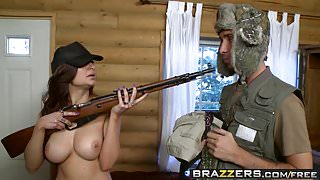 Brazzers - Big Tits In Sports -  I Will Hunt Your Cock scene