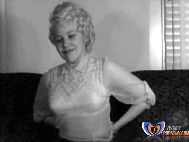 Kute Kitty 1950s Erotica Striptease Vintagepornbay