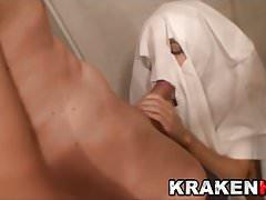 Krakenhot - Funny casting with blowjob and hardsex