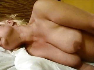 My first pillow masturbation with fresh shaved pussy.