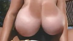 mature oils here huge tits by the pool