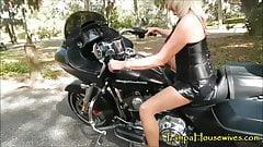 Revving Harleys Makes Her Pussy WET!