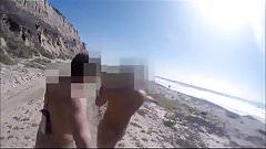 Bronha com primo  liberal na praia parte 1