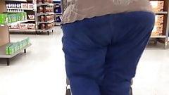 Huge SSBBW granny ass 1
