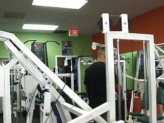 Hot Gym Girl Sucks The Trainers Pole After A Workout